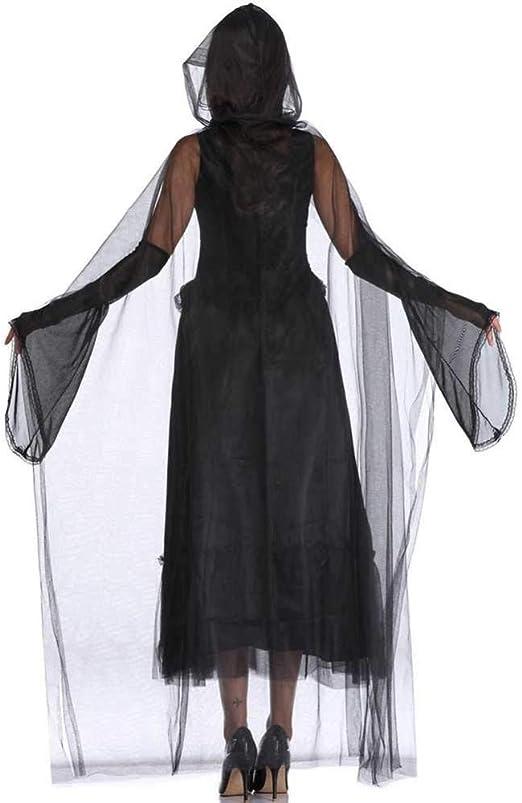 GWNJSSX Disfraz De Carnaval Disfraz De Bruja Malvada Vestido De ...
