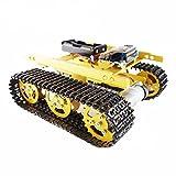 HITSAN Geekcreit DIY T100 NodeMCU Aluminum Alloy Tank Track Caterpillar Chassis Smart Robot Kit One Piece