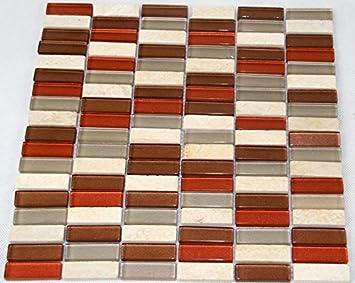 Restposten Fliesen Mosaik Mosaikfliesen Glas Stein Mix Mm Bad Neu - Restposten fliesen aussen