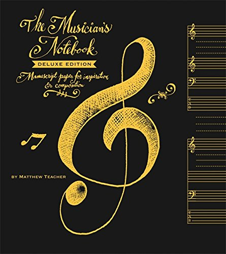 Musician's Notebook Deluxe Ed. (Miniature Editions)
