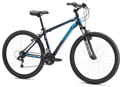 Mongoose Men's Montana Sport 27.5″ Wheel, Navy, 20 inch / Small For Sale