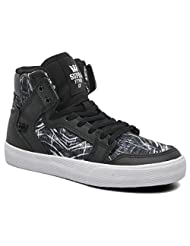 Supra Vaider Black White Youths Trainers