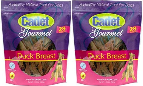 2 Pack Duck Breast Dog Treats, 28 Ounce