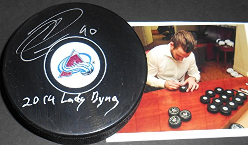 Colorado Avalanche Memorabilia - Ryan O'Reilly Colorado Avalanche Autographed Signed Puck