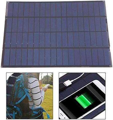 Dgtrhted Hohe Qualität 5W 18V DIY polykristallines Silizium Solar Panel Ladegerät Wasserdicht