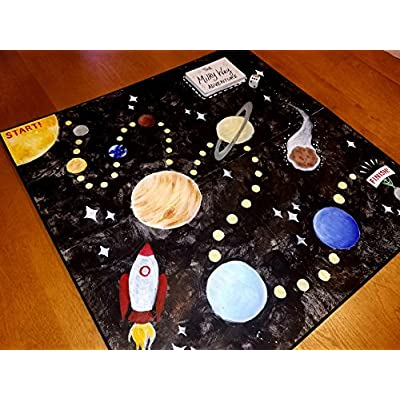 Apostrophe Games Blank Game Board & Box: Toys & Games