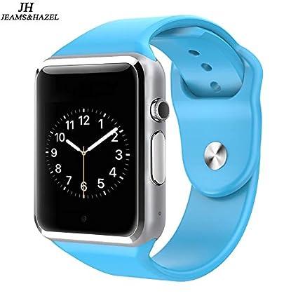 Amazon.com: JEAMS&HAZEL Smart Watch DT-A1 (Blue)