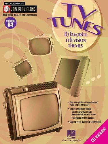 (TV Tunes: Jazz Play-Along Volume 64 (Hal Leonard Jazz Play-Along))