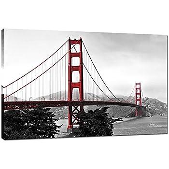 Good Live Art   Modern Home Decoration Wall Art,San Francisco Golden Gate Bridge  Picture Painting