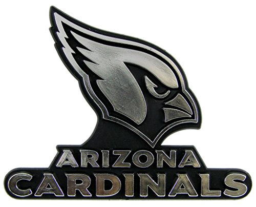 NFL Arizona Cardinals Chrome Automobile Emblem