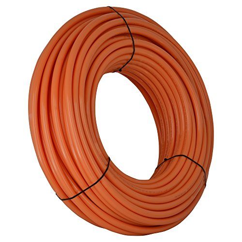 Tubing Oxygen Barrier (SharkBite U870O1000 3/4-Inch PEX Tubing, 1000 Feet, ORANGE, for radiant heat, hydronic heating and tile floor heating systems.)