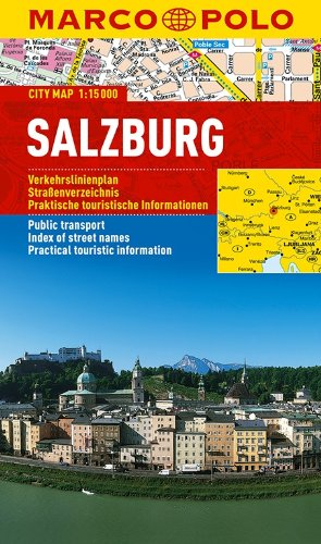 Salzburg Marco Polo City Map (Marco Polo City Maps)