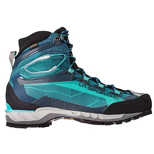 (La Sportiva Trango TECH GTX Women's Hiking Shoe, Aqua/Opal, 38)