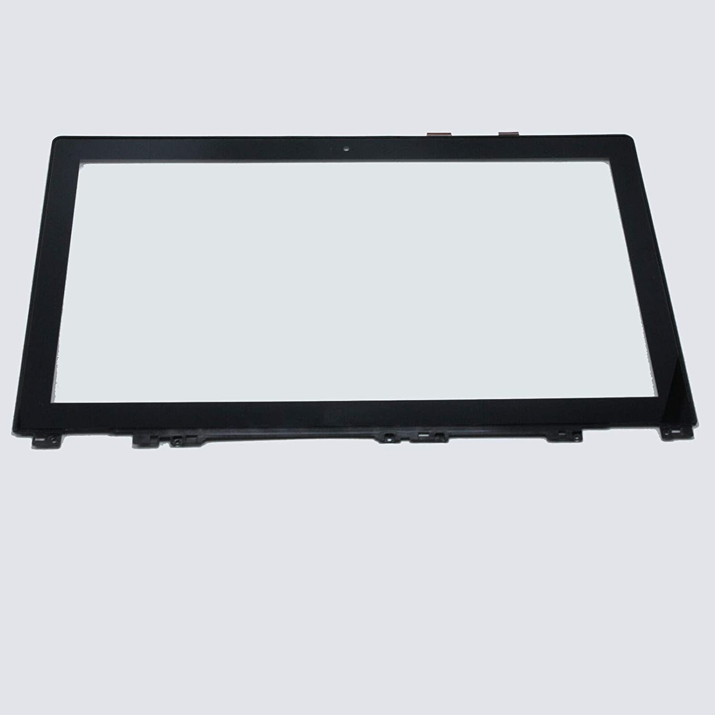 "15.6"" Touch Screen Front Glass Digitizer + Bezel for Lenovo IdeaPad U530 20289"