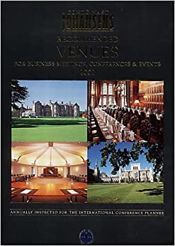 Book Johansens Recommended Business Meeting and Conference Venues 2002