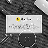 Humixx  Laptop Stand, Foldable Computer Holder with 5 Adjustable Degrees, Ergonomic Design Laptop Riser Compatible with Apple MacBook/Air/Pro and Laptops 10 to 15.6 Inches
