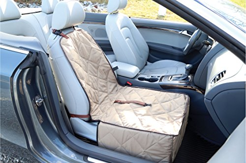 Ideas In Life Dog Car Seat Cover - 2 in 1 Bucket Seat Cover and Car Pet Seat - With Seat Anchor Strap and Dog Leash Connector by Ideas In Life (Image #6)