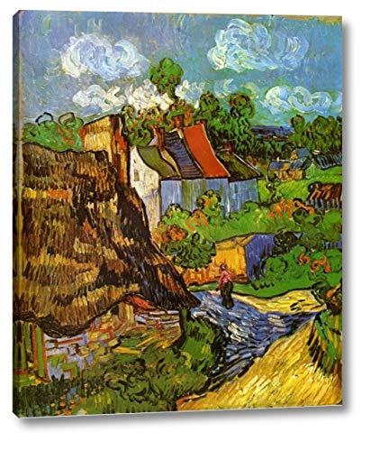 Houses in Auvers by Vincent Van Gogh - 15