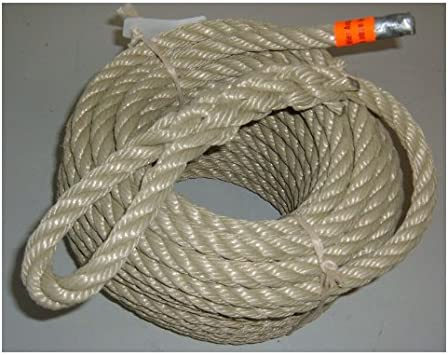 Tau Seil Rettungsseil Sicherungsseil Halteseil Mehrzweckseil 30 m THW//BUND