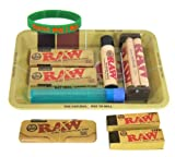 (US) Bundle - 10 Items - RAW Rolling Paper Mini Rolling Tray Sampler Plus+