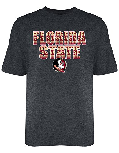 Florida State Tribe Life T Shirt Charcoal - M - charcoal heather gray