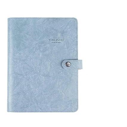 BJBCH A5 Cubierta Suave Espiral Cuaderno De Anillas ...
