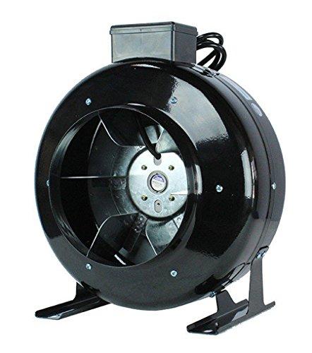 "TopoLite 4"" 6"" 8"" Inline Duct Fan High CFM Air Blower Hea..."