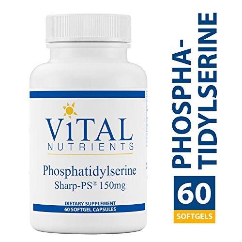 Vital Nutrients – Phosphatidylserine – Cognitive Support – 150 mg – 60 softgel Capsules