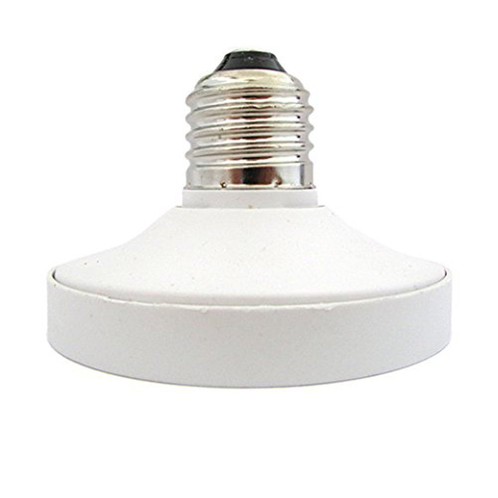 FINELED E27 to GX53 Adapter,E27 Female to GX53 Male Cablematic LED Light Bulb Holder Adaptor Pack of 1
