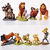SAMANIS Jungle Book Lion King Set-9Pcs/Lot 5-9Cm