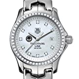Citadel TAG Heuer Watch - Women's Link with Diamond Bezel at M.LaHart