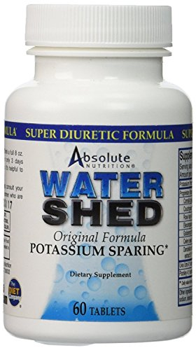 Absolute Nutrition WaterShed -- 60 Tablets Oil 60 Tablets