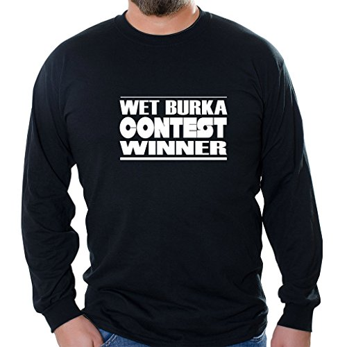 Custom Brother - Wet Burka Contest Winner Unisex Long Sleeve Shirt Black -