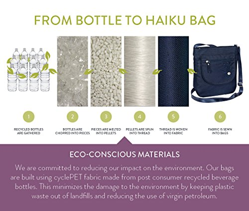 Haiku Juniper Bag Revel Women's Black Eco Crossbody qWrf1CnqF