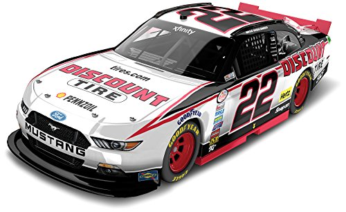 lionel-racing-n225823dtbw-brad-keselowski-22-discount-tire-2015-ford-mustang-xfinity-series-124-scal
