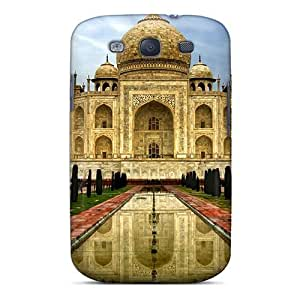 Top Quality Case Cover For Galaxy S3 Case With Nice Taj Mahal India Appearance
