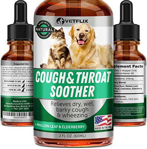 Vetflix Cough Throat Soother
