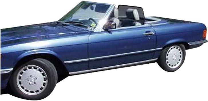Wieland 1074 Passform Weyer Basic Line Windschott Mercedes Sl R107 1971 1989 Mit Notsitz Schwarz Auto