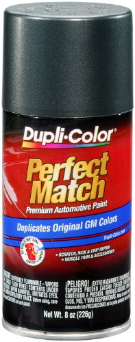 Dupli-Color BGM0522 Storm Gray Metallic General Motors Exact-Match Automotive Paint - 8 oz. Aerosol (Grey Storm)