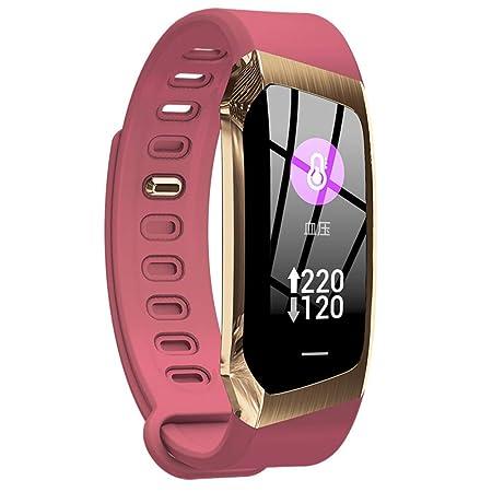 Fitness Smart Watch Hombres Mujeres Monitor de Ritmo Cardíaco ...