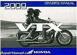 31MEM650 2009 Honda VTX1300C Motorcycle Owners Manual