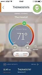 Trane Thermostat Z Wave Works With Amazon Alexa