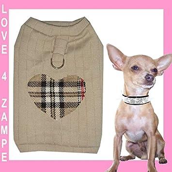 M pöperi Love WOLL softgesc infantil Chihuahua perro perros – Sudadera para mujer para pequeños perros mano: Amazon.es: Productos para mascotas