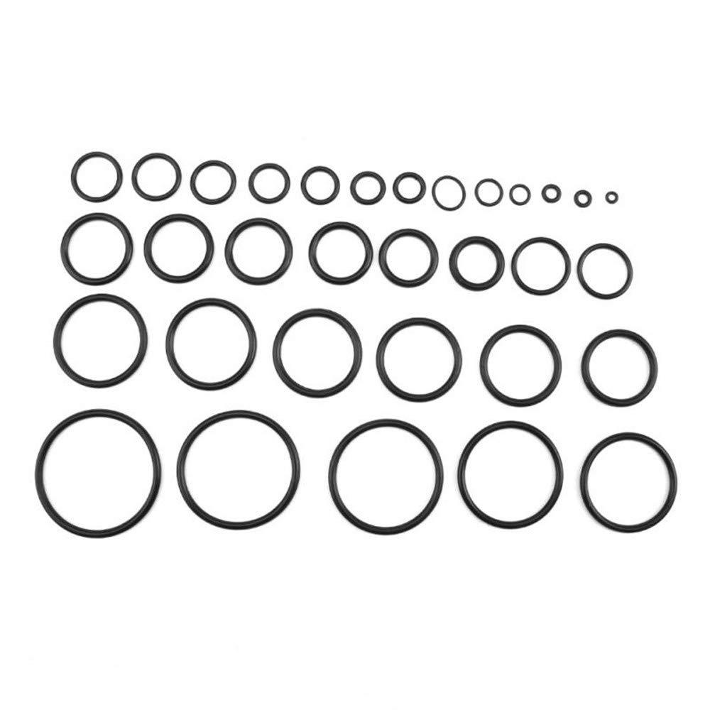 Gomma O Ring Kit 419Pcs Gomma Nitrile Set Di Alta Qualit/à Metrica Guarnizione R01-R32 Per Valvole Pompe Auto Apparecchiature Elettriche Cuscinetti