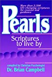 Pearls: Scriptures to Live by