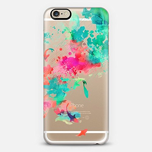 Casetify Watercolor Pond - iPhone 6 Case (Frosty White)