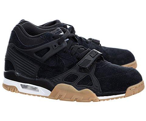 Nike Men's Air Trainer 3 Black/Black/White/Gm Lght Brwn Training Shoe 10 Men US