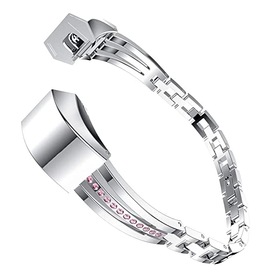 Amazon com: Domybest 15CM Adjustable Stainless Steel Watch Strap