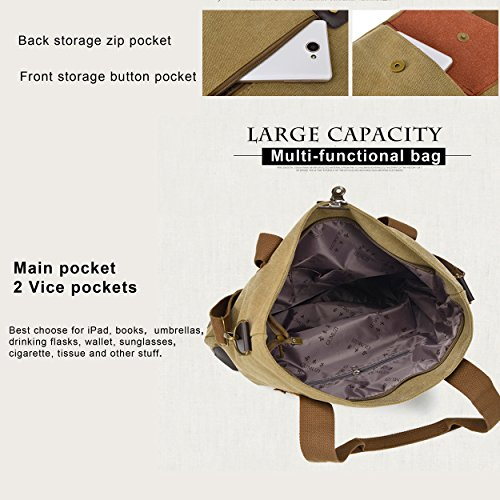 Messenger Top Tote Bags Shopper Canvas Men Shoulder Handle Hobo Big Women Vintage Handbags Black Casual Purse Uq8Sx75