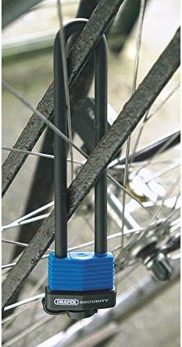 Draper 62952 U Bar Extra Long Shackle Lock with 2 Keys
